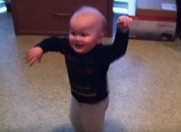9 Fabulous Dance Moves, Performed By Babies