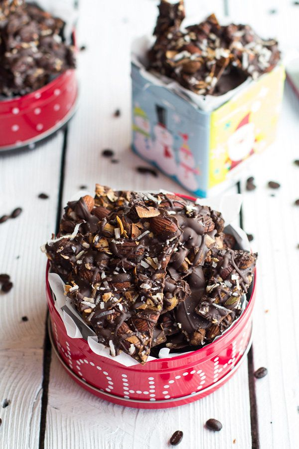 "<strong>Get the <a href=""http://www.halfbakedharvest.com/coffee-roasted-almond-toasted-coconut-dark-chocolate-bark/"" target="""