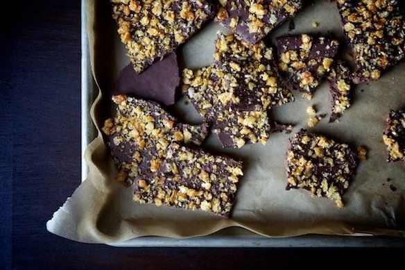 "<strong>Get the <a href=""http://food52.com/recipes/14844-caramelized-crispy-rice-bark"" target=""_blank"">Caramelized Crispy Ric"