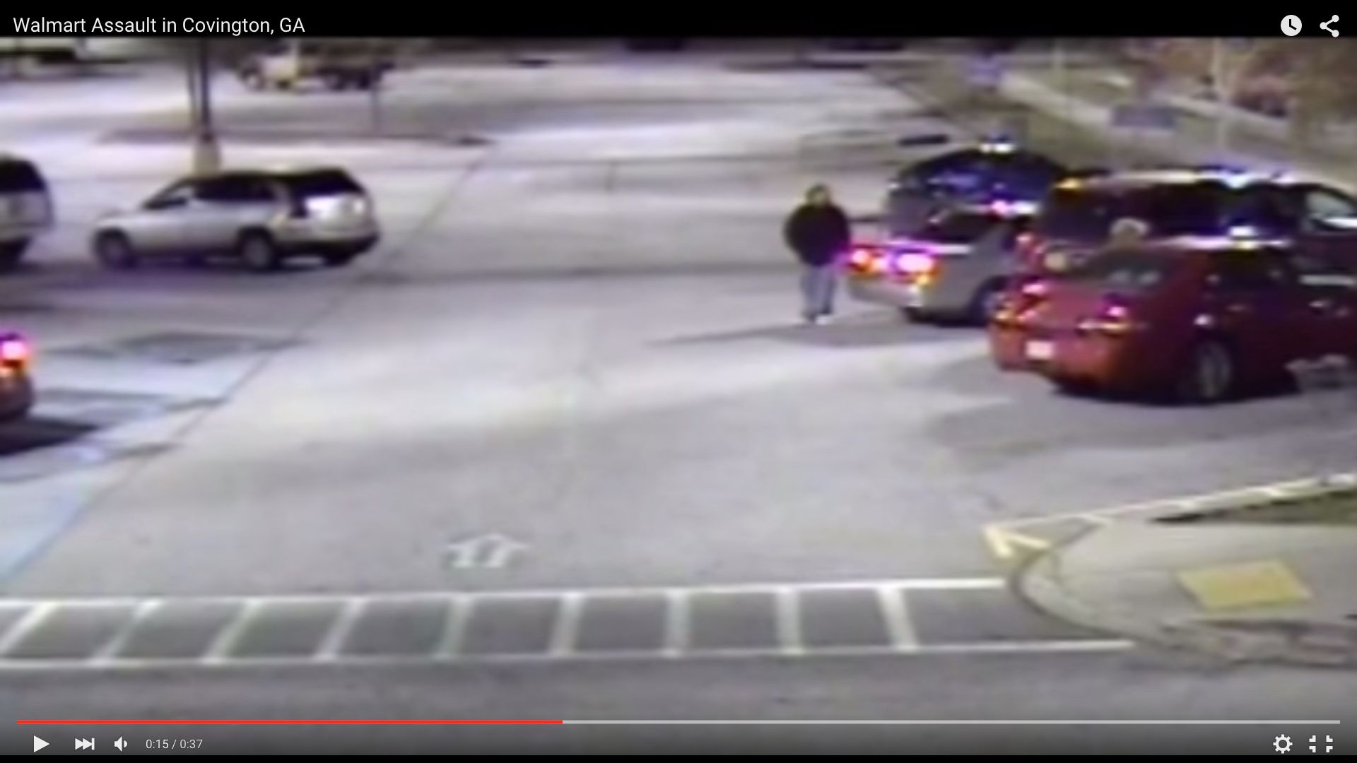 Police in Georgia are looking for this man who they say killed a woman by repeatedly running her over with his car after stealing her purse.