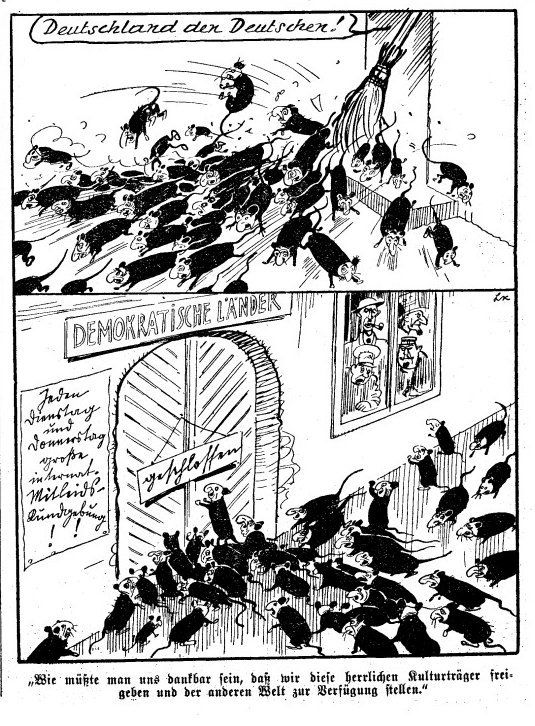 This Daily Mail Anti-Refugee Cartoon Is Straight Out Of Nazi