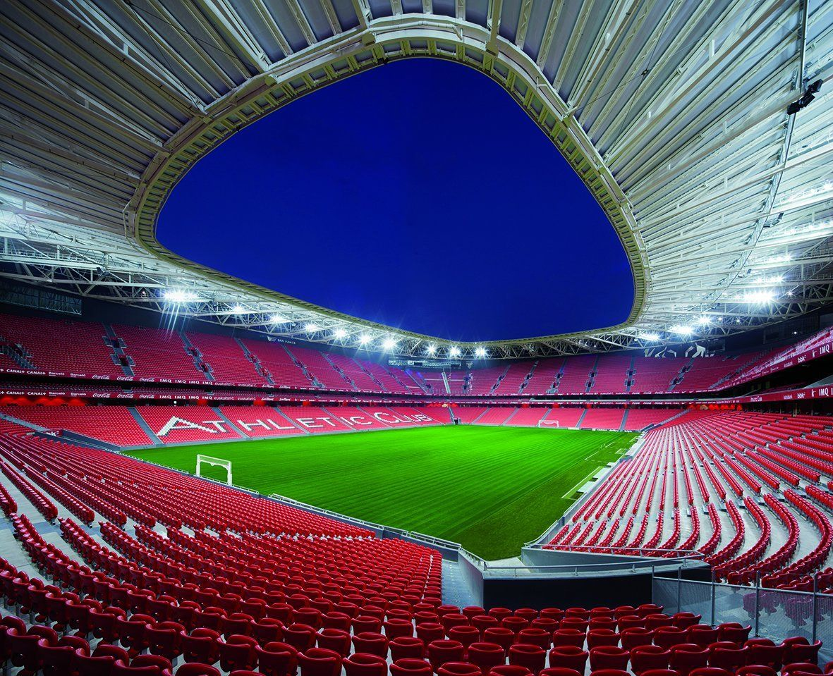 The new stadium in Biscay, Spain.