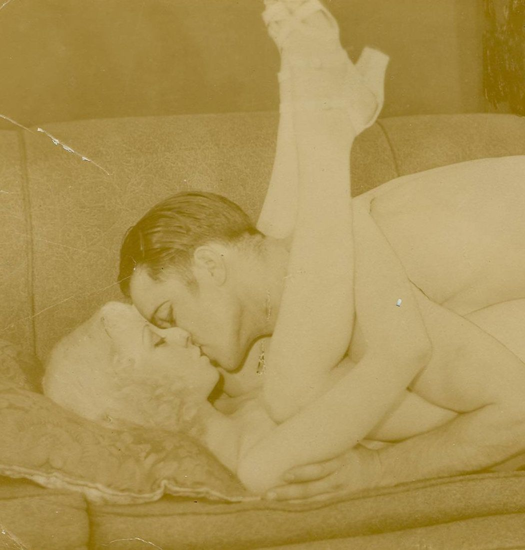 Untitled Photograph of Couple on Couch (detail), Museum of Sex Collection