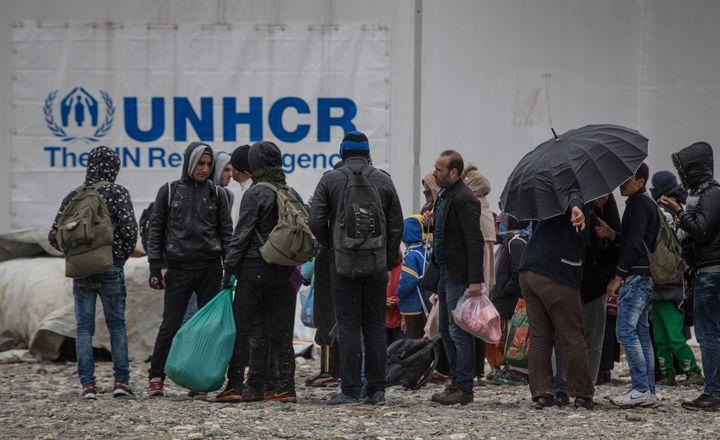 UNHCR identifies refugees around the world.