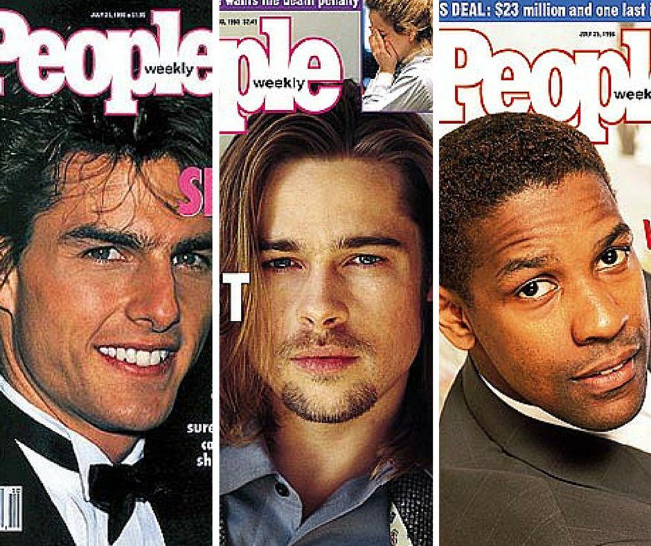 Los hombres más sexis según 'People': así eran... y así
