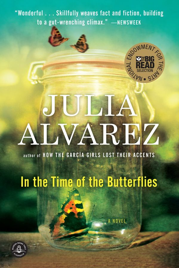 "<i>""</i><i>In</i><i> the Time of the Butterflies</i> by Julia Alvarez really affected me as a young teen when I read it. In t"