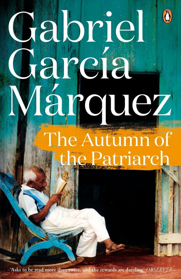 """Gabriel Garcia Marquez's whole catalogue, particularly <i>Autumn of the Patriarch.<strong>&nbsp;</strong></i>His genre-shatt"