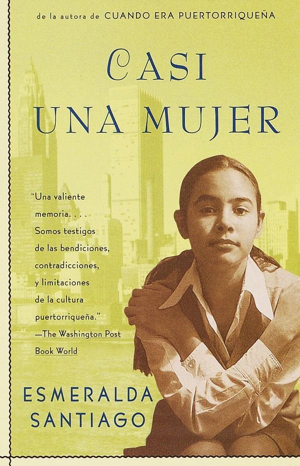 """Santiago's coming of age memoir was the first book I ever read that was written in Spanglish. There was something about seei"