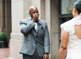 23 Times Grooms Were Totally, Completely Overcome With Emotion