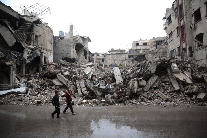 Over 200,000 Syrians have been killed in Syria's civil war.