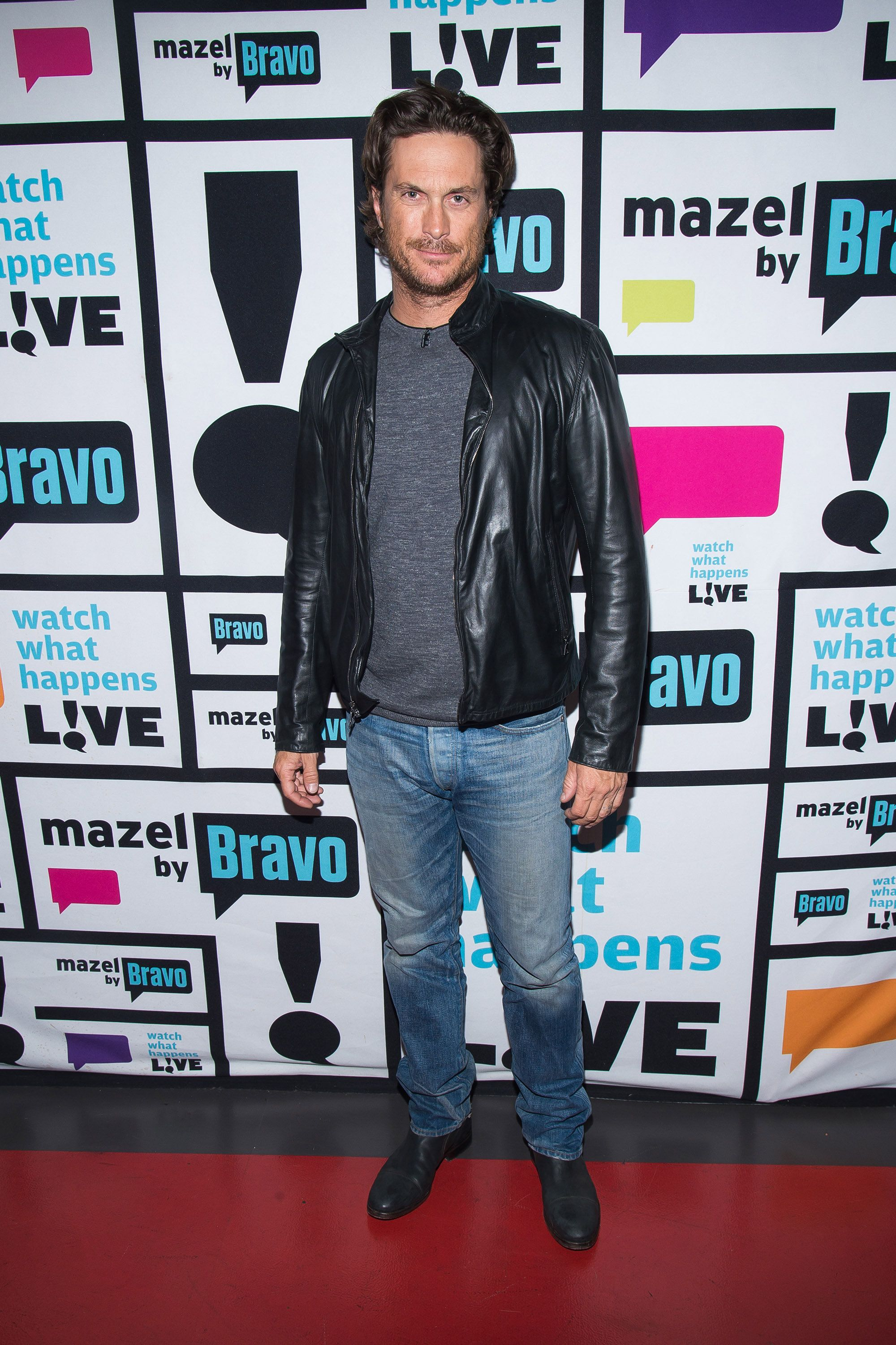 WATCH WHAT HAPPENS LIVE -- Pictured: Oliver Hudson -- (Photo by: Charles Sykes/Bravo/NBCU Photo Bank via Getty Images)
