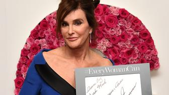 NEW YORK, NY - NOVEMBER 09:  Caitlyn Jenner poses for a photo at the backstage inspiration wall at the 2015 Glamour Women of the Year Awards at Carnegie Hall on November 9, 2015 in New York City.  (Photo by Nicholas Hunt/Getty Images for Glamour)