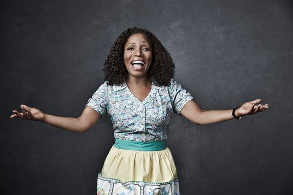 THE WIZ LIVE! -- Season: 2015 -- Pictured: Stephanie Mills as Auntie Em -- (Photo by: Paul Gilmore/NBC)