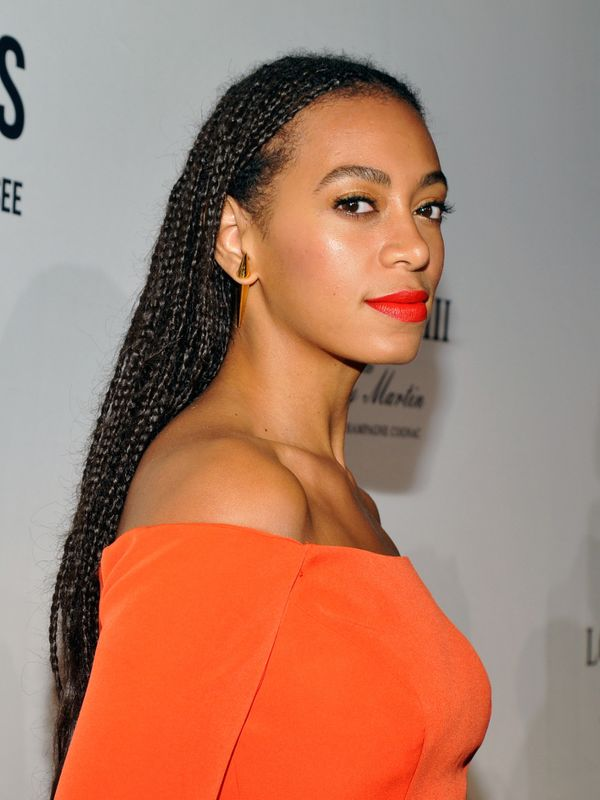 Solange Knowles Small Braids