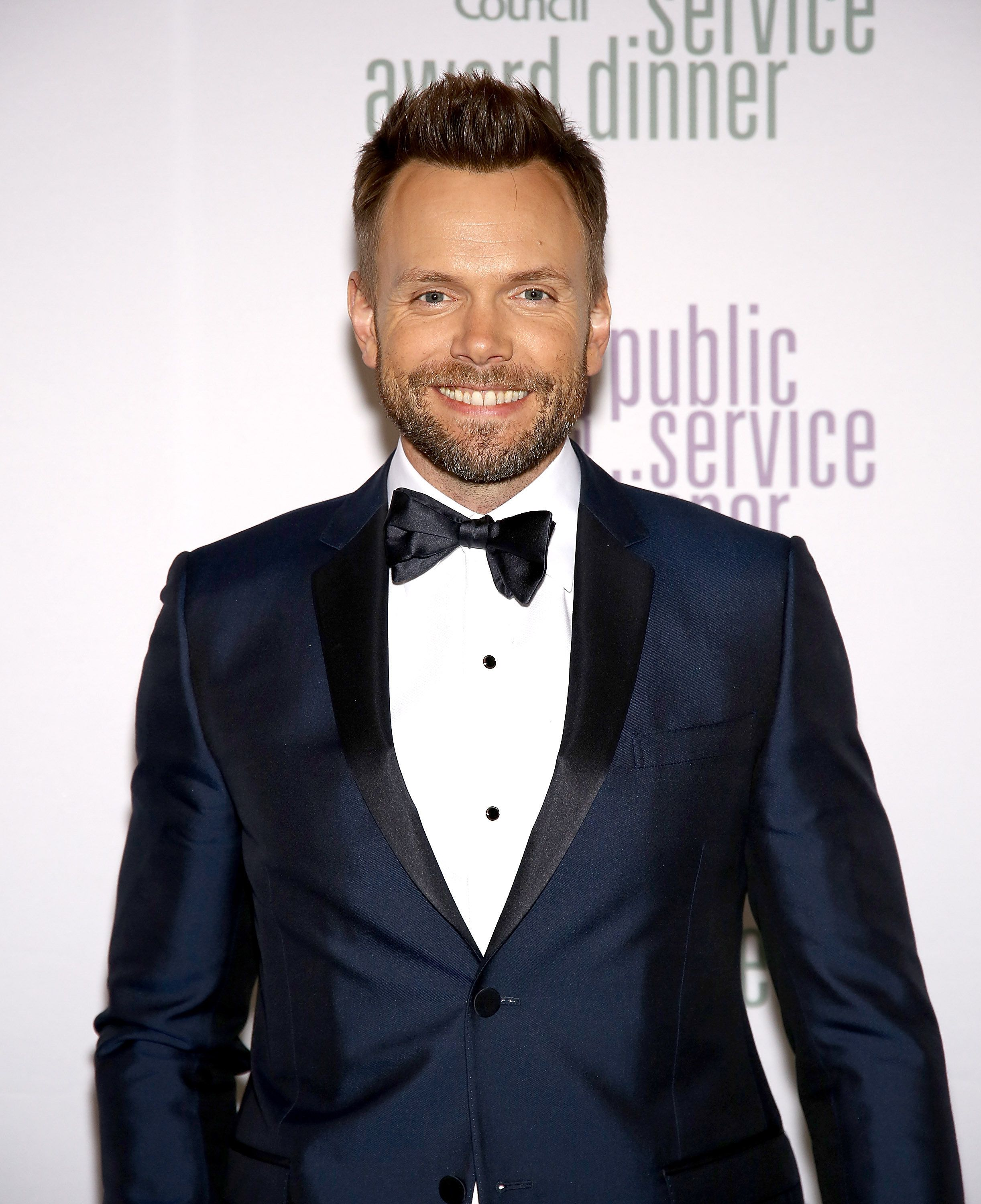 NEW YORK, NY - NOVEMBER 11:  Host Joel McHale attends the 2015 Ad Council Annual Public Service Award Dinner at The Waldorf=Astoria on November 11, 2015 in New York City.  (Photo by Paul Zimmerman/WireImage)