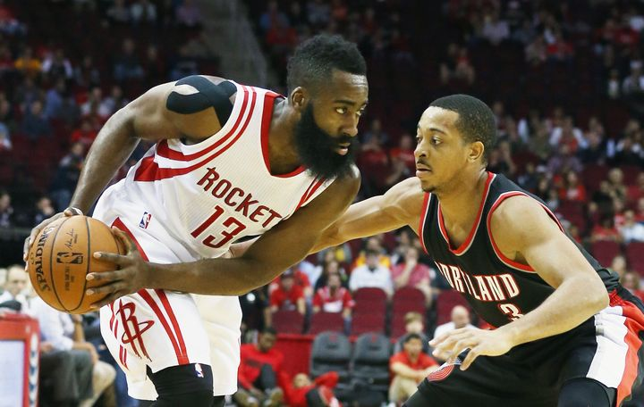 While he's averaging a career-high 29 points per game, Houston's James Harden is shooting just 37 percent from the floor and