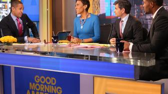 GOOD MORNING AMERICA - Coverage of GOOD MORNING AMERICA, 11/5/15, airing on the ABC Television Network.   (Photo by Fred Lee/ABC via Getty Images)