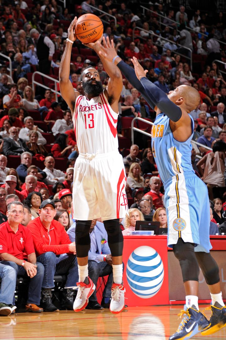 Harden is shooting an almost unfathomable 9.8 3-pointers per game, nearly three more than his previous career-high.