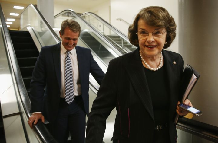 Sens. Dianne Feinstein (D-Calif.) and Jeff Flake (R-Ariz.) have pushed a proposal to limit the visa waiver program.