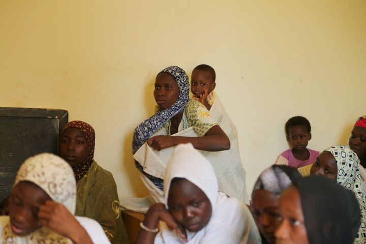 The U.N. launched an eight-month-long pilot program to educate young girls, in which some 20 girls met biweekly to parti