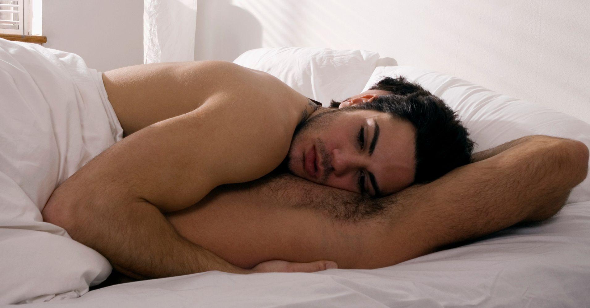 Naked white male orgasm symptoms