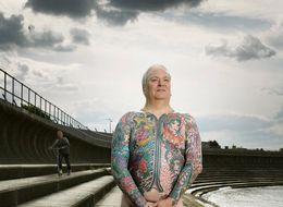 Photos Chronicle Heavily Tattooed People, Both Covered Up And Exposed