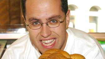 Jared Fogle during Jared Fogle Launches 'Fight The Fat' Campaign at Subway, Charing Cross in London, Great Britain. (Photo by David Lodge/FilmMagic)