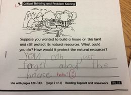 This Kid Had The Chillest Response To A Question About The Environment