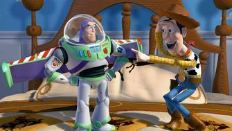 BPFAG6 BUZZ LIGHTYEAR & WOODY TOY STORY (1995)