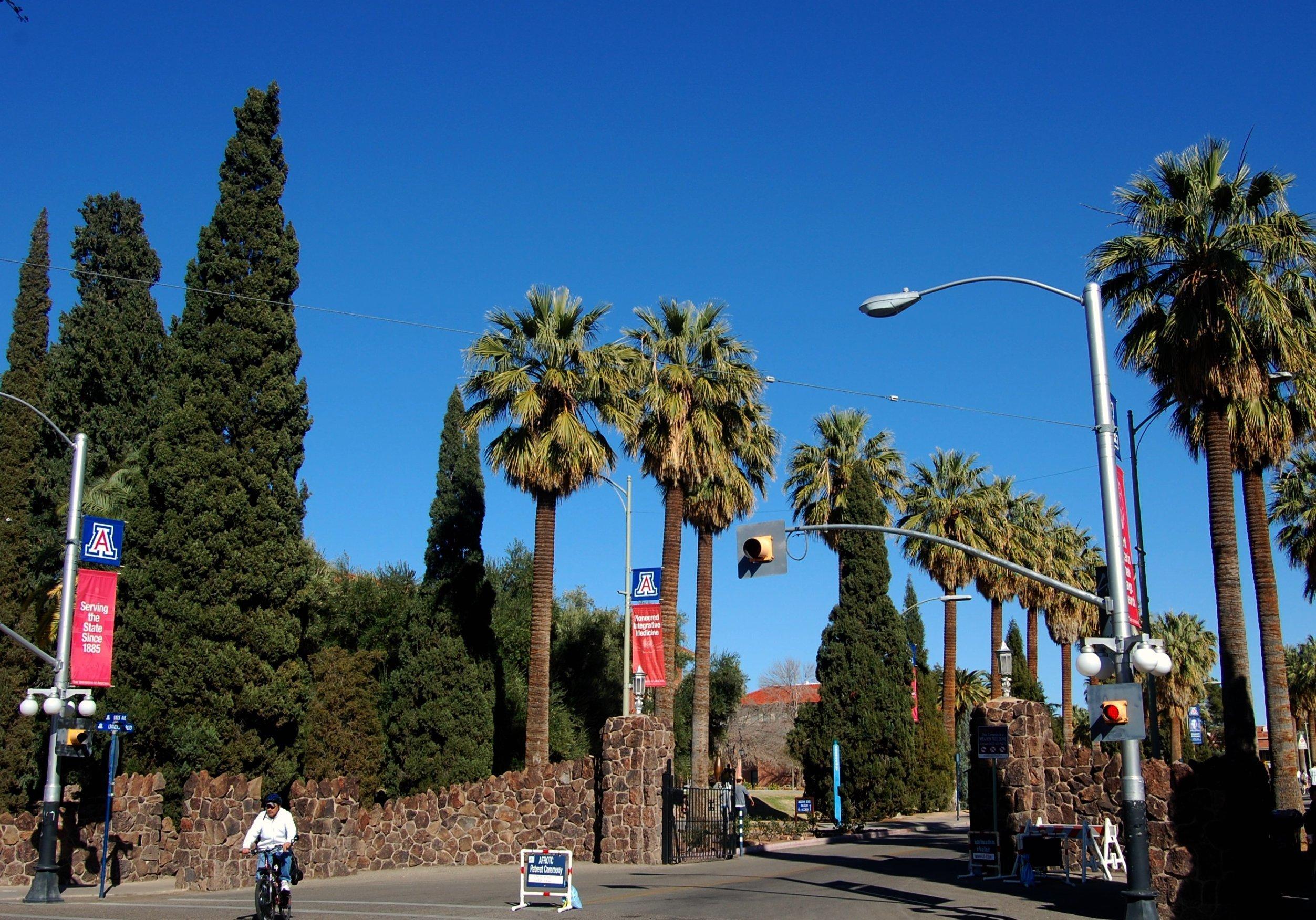 The University of Arizona Campus in Tucson
