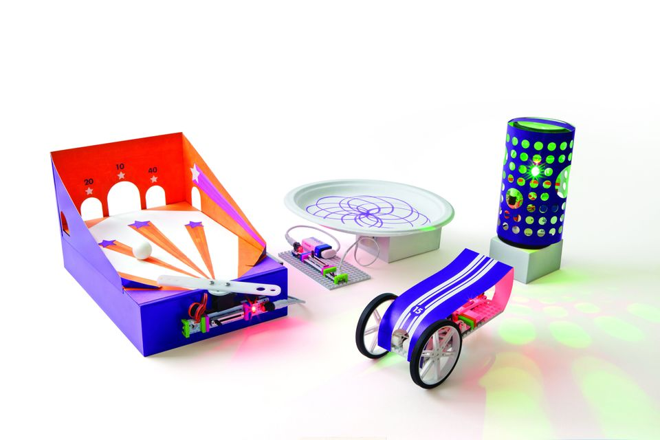 Although circuit-building sets have long been around, LittleBits takes inventing and building electrical-powered devices to a