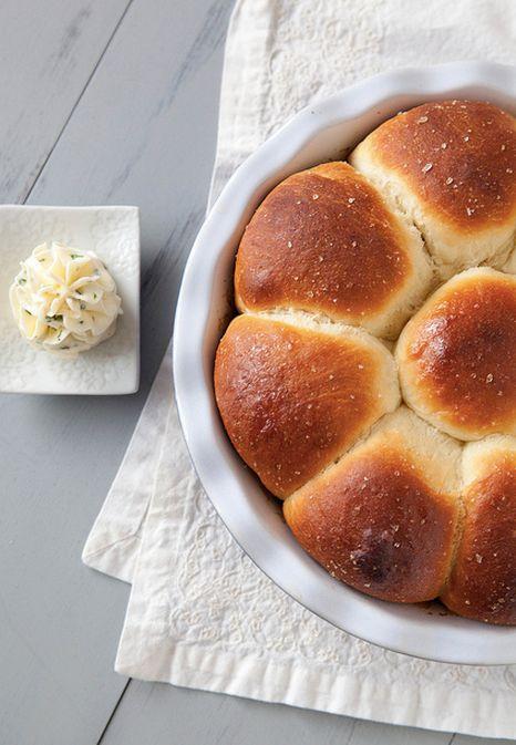"<strong>Get the <a href=""http://www.annies-eats.com/2013/11/18/honey-yeast-rolls/"" target=""_blank"">Honey Yeast Rolls recipe</"