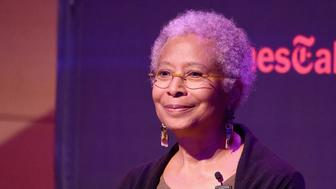 NEW YORK, NY - OCTOBER 29:  Author Alice Walker attends  'The Color Purple' TimesTalks: Jennifer Hudson, Cynthia Erivo, Alice Walker, John Doyle at The New School on October 29, 2015 in New York City.  (Photo by Jamie McCarthy/Getty Images)