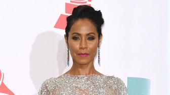 LAS VEGAS, NV - NOVEMBER 19:  Jada Pinkett Smith poses backstage during the 16th Latin GRAMMY Awards on November 19, 2015 in Las Vegas, Nevada.  (Photo by C Flanigan/Getty Images)