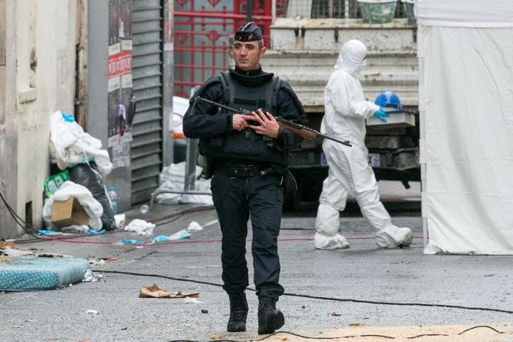 The French Interior Ministry said Fridaypolice have searched 793 premises, held 90 people for questioning, put 164 unde