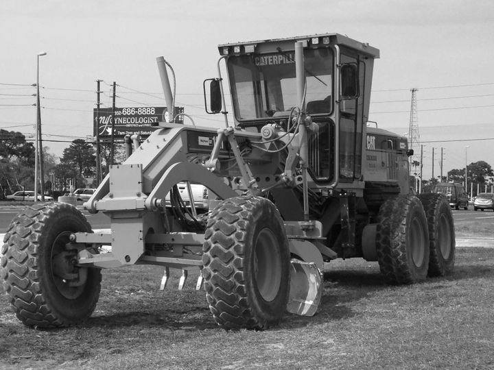 Voorkamp was operating a Caterpillar 12H road grader, like the one pictured, before he died.