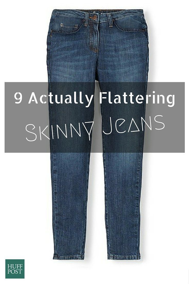 Skinny jeans for a curvy body