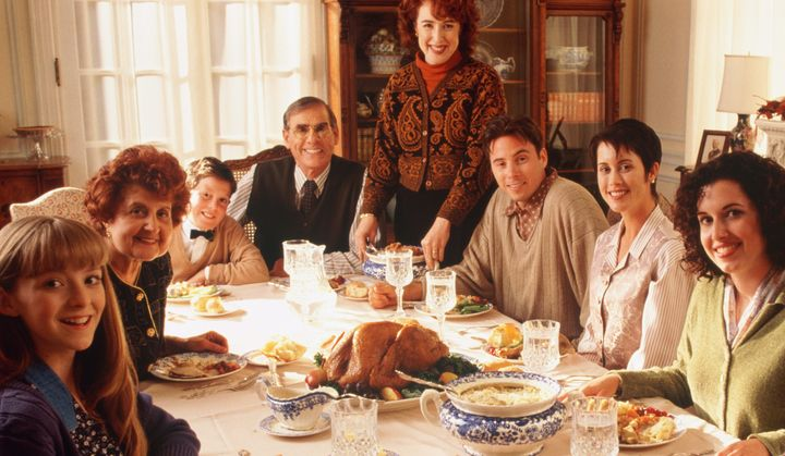 In a movie based on this wholesome family portrait, three people did all the cooking (keeping in mind Laura th