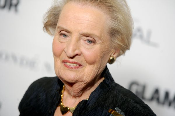 "Albright was a refugee whose family <a href=""http://www.unhcr-centraleurope.org/en/about-us/unhcr-people/prominent-refugees.h"