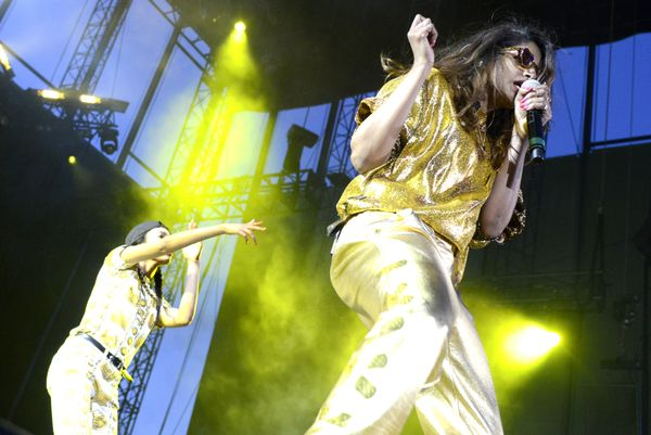 "Grammy winning rapper/musician Mathangi ""Maya"" Arulpragasam, better known as M.I.A, <a href=""http://www.nytimes.com/2007/08/1"