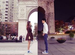 Couple's Photo Series Beautifully Captures Long-Distance Love