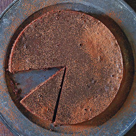 "This indulgent dessert from Kristine Kidd's <a href=""http://www.amazon.com/Gluten-Free-Baking-Williams-Sonoma-Kristine-Kidd/d"