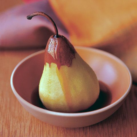 We're used to seeing fall and winter fruits roasted, baked and simmered. Steaming, though, is an unexpected way to keep the f