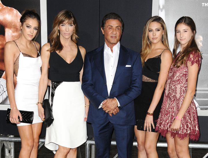 Sylvester Stallone's Beautiful Family Shows Him Up On The ...