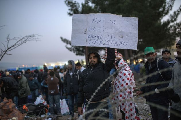 "<span class='image-component__caption' itemprop=""caption"">Macedonia, Serbia, Croatia and Slovenia have stopped admitting anyone not coming from the most war-torn countries.</span>"
