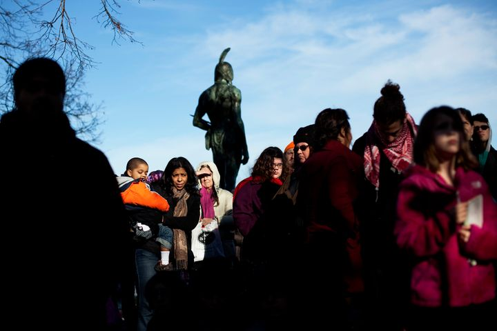 """Between 700 and 1200 people are expected to gather in Plymouth for the """"National Day of Mourning"""" on Thanksgiving to tell the story of their people and discuss the issues affecting the Native American community today."""