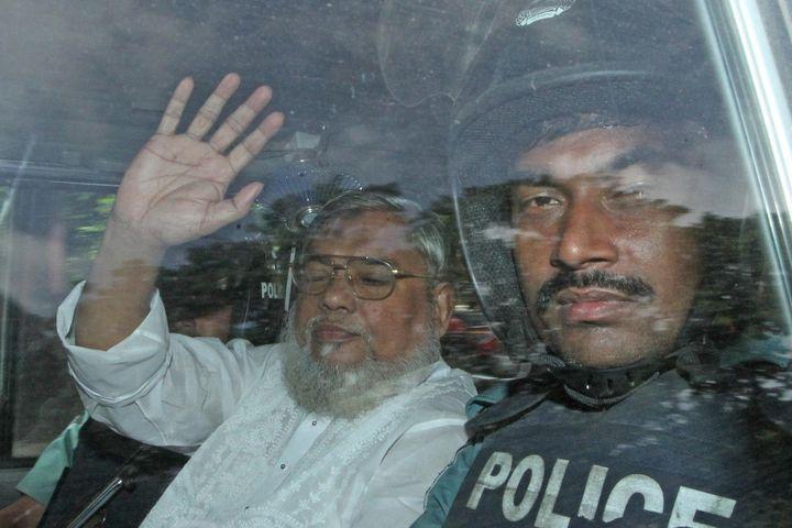 Ali Ahsan Mohammad Mujahid was the leader ofthe Jamaat-e-Islami party.