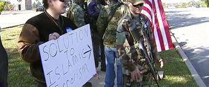 ANTI ISLAM PROTEST