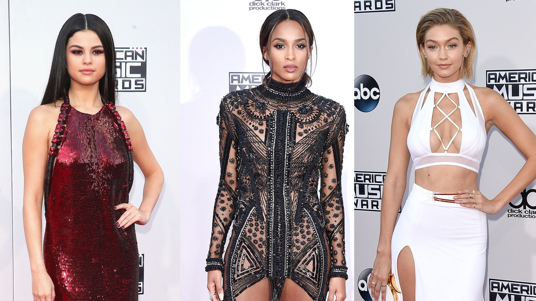 American Music Awards Red Carpet 2015: See All The Stars' Looks