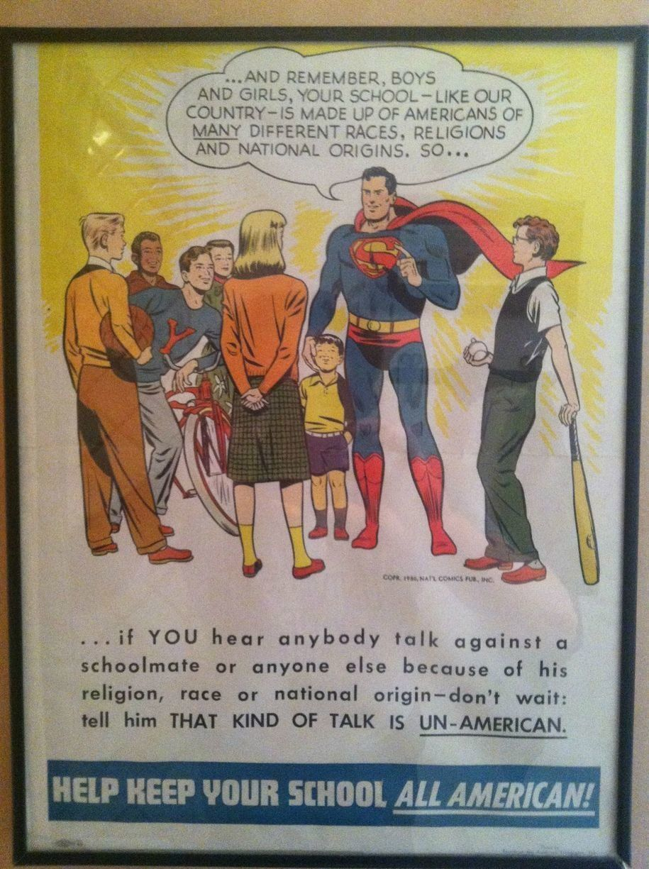 This poster may date as far back as 1949, but its message is pretty relevant today.